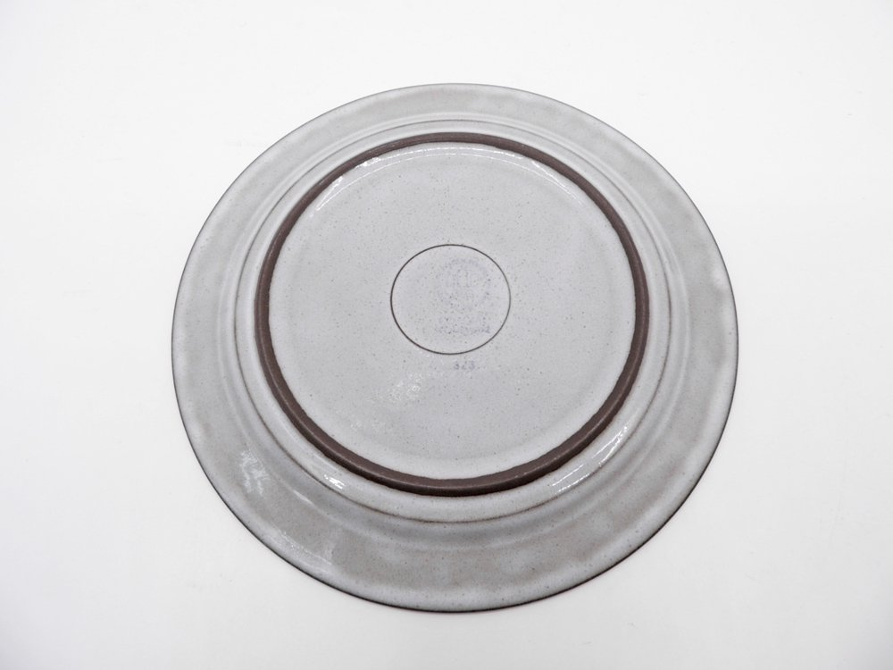 ビングオーグレンダール B&G コーディアル Cordial プレート 大 グレー イェンス・H・クィストゴー JHQ デンマーク 北欧ビンテージ B ●
