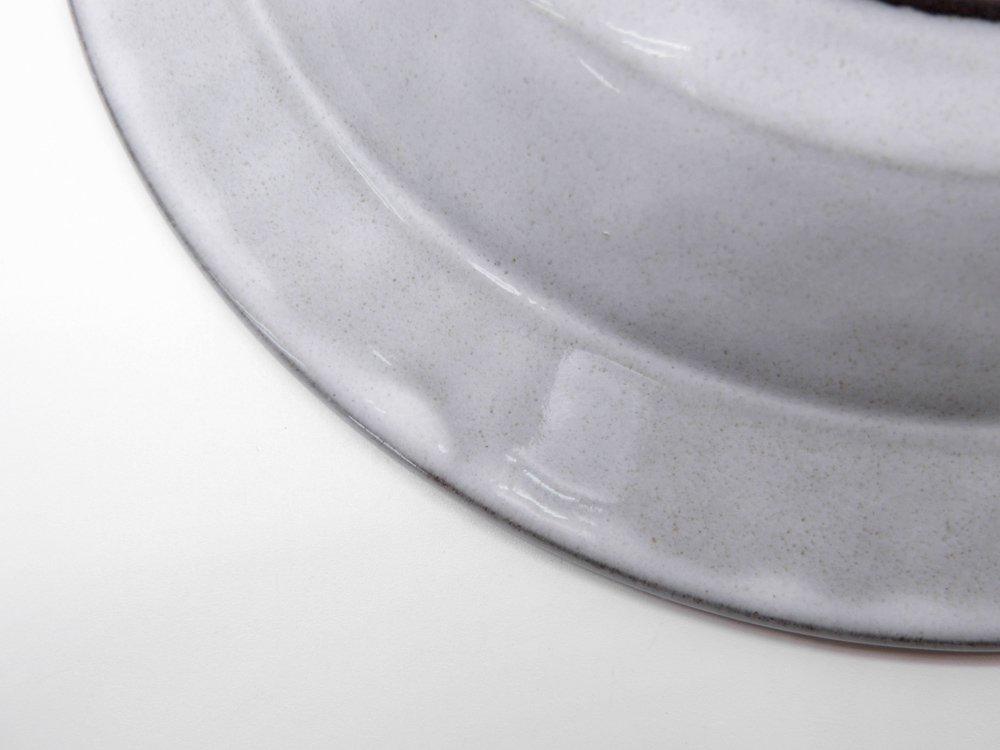 ニッセン NISSEN コーディアル Cordial スーププレート ボウル グレー イェンス・H・クィストゴー JHQ デンマーク 北欧ビンテージ B ●