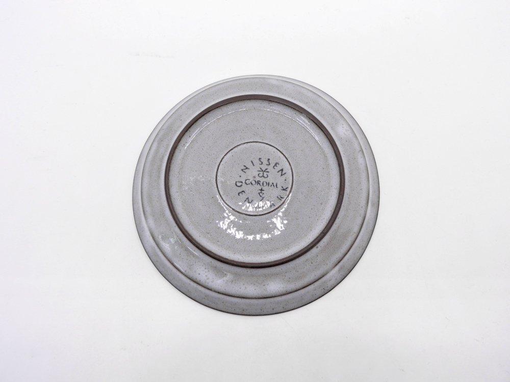 ニッセン NISSEN コーディアル Cordial カップ&ソーサー C&S グレー イェンス・H・クィストゴー JHQ デンマーク 北欧ビンテージ ●
