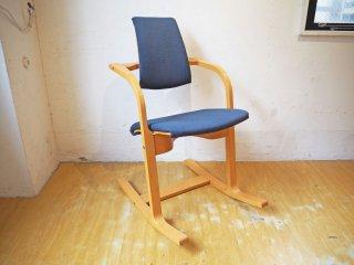 ストッケ STOKKE ヴァリエール VARIER アクチュラム Actulum バランスチェア 北欧 ロッキングチェア デスクチェア 椅子 ★