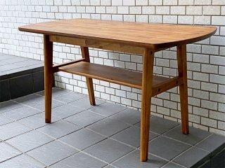 ウニコ unico スウェラ swella カフェテーブル リビングテーブル アカシア無垢材 西海岸スタイル ■