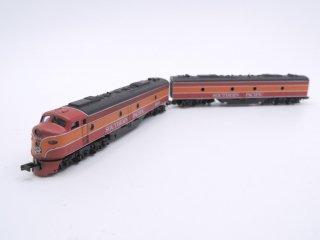 コンコー CON-COR サザンパシフィック SOUTHERN PACIFIC 2両セット Nゲージ ケース付 鉄道模型 ●