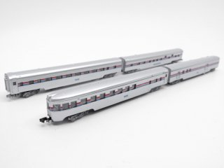 コンコー CON-COR アムトラック スーパーライナー AMTRAK Superliners 4両セット Nゲージ ケース付 鉄道模型 ●
