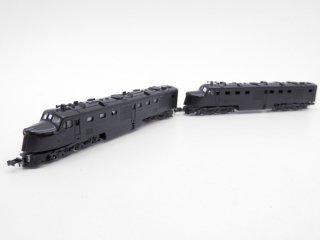 コンコー CON-COR PA-1 ディーゼル機関車 2両セット Nゲージ ケース付 日本製 鉄道模型 ●