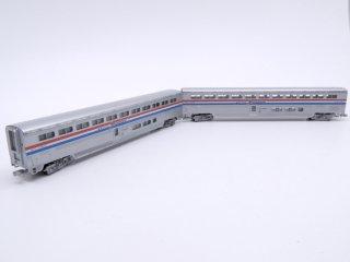 コンコー CON-COR アムトラック Amtrak スーパーライナー Super Liner 2両セット Nゲージ ケース付 鉄道模型 ●