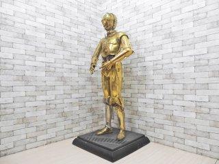 サイドショー Side show スターウォーズ STAR WARS ライフサイズ C-3PO 1/1 フィギュア 等身大 希少 アメリカ 限定品 ジャンク品 ●