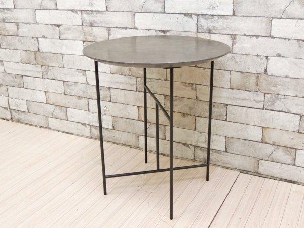 デパドヴァ Depadova セン ラウンドテーブル SEN サイドテーブル 大城健作 イタリア 定価約¥200,000- ●