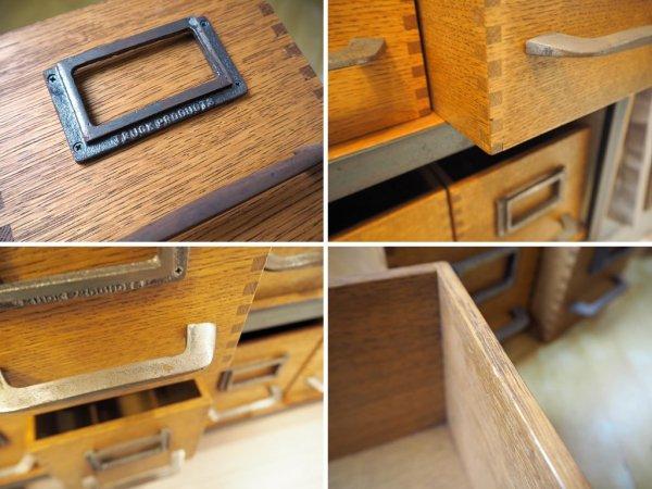 トラックファニチャー TRUCK Furniture AG ボックス Sサイズ 6個セット 楢材 箱型収納 ハンドル&ネームプレート付 B ★