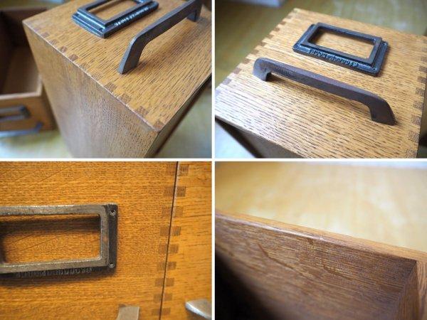 トラックファニチャー TRUCK Furniture AG ボックス Sサイズ 6個セット 楢材 箱型収納 ハンドル&ネームプレート付 C ★