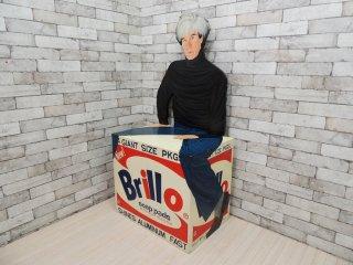 Kathy Callahan アンディ・ウォーホル Warhol and His Brillo Box 1991年 世界125台限定 ED.8/125 激レア 希少 ブリロ オブジェ チェア ●