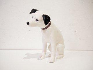 ビクター Victor ニッパー Nipper 犬 陶器 オブジェ 置物 ディスプレイ 高21cm ★