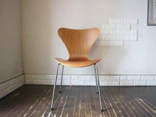 フリッツハンセン Fritz Hansen セブンチェア Seven Chair アルネヤコブセン Arne Jacobsen ナッツ ナチュラル 廃盤カラー デザイナーズ A ◎
