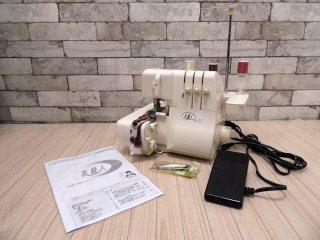 ジューキ JUKI ベビーロック Baby Lock 衣縫人 IHOJIN 1本針3本糸 ロックミシン BL-33 フットコントローラー エアスルーシステム 中古品 ●