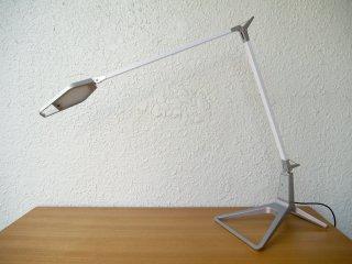 ライツ Leitz STYLE スマート LED デスクランプ デスクライト シルバー 調光 発光色設定 スマホアプリ操作 取説付 美品 6208 ドイツ 定価¥56,861 ◇