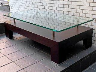 クラスティーナ Crastina ソリダス SOLIDUS ガラステーブル センターテーブル モダンデザイン ■