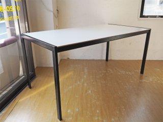 ザノッタ Zanotta サンマルコ ダイニングテーブル SanMarco Table メラミントップ スチールフレーム 定価34万程 イタリア製 ★