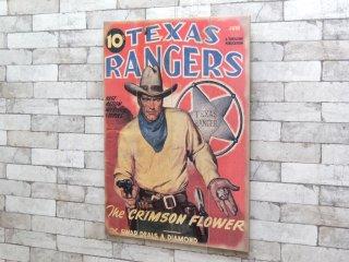 テキサスレンジャーズ TEXAS RANGERS ウッドパネル ウォールデコ 壁掛け パイン材 アメリカ製 ●
