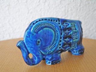 ビトッシ BITOSSI リミニブルー Rimini Blu No.95 ELEPHANT ゾウ オブジェ 置物 イタリア ◇