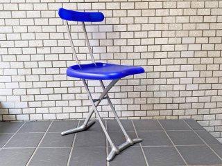 マジス MAGIS ロンディーネ RONDINE ブルー フォールディングチェア 折り畳み椅子 喜多俊之 イタリア ■