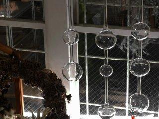 イッタラ iittala アテネの朝 Ateenan Aamu 3本セット ガラスオブジェ 箱付 カイ・フランク 1954年デザイン フィンランド 北欧雑貨 ●