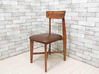 ジャーナルスタンダード journal standard Furniture j.s.F シノン チェア CHINON CHAIR ダイニングチェア 本革 定価\29,700- A ●