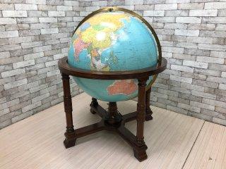 リプルーグル Replogle ディプロマット型 ブルーオーシャン 地球儀 Globe 照明内蔵 特大サイズ 定価\1,980,000-  ●