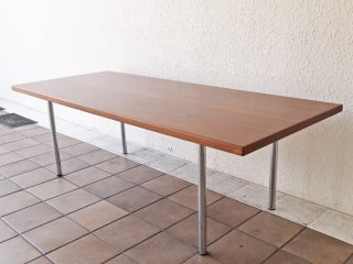 アンドレアス・タック ANDREAS TUCK AT12 コーヒーテーブル ローテーブル チーク材 ビンテージ ハンス・J ・ウェグナー 北欧家具 ◇
