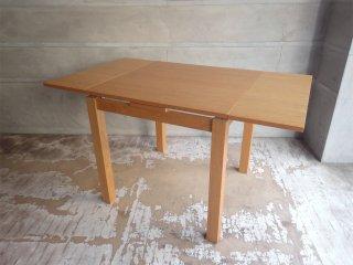 ウニコ unico ヴィボ VIVO ダイニングテーブル エクステンション 伸長式 オーク材 北欧スタイル ♪