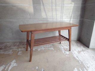 カリモク60 karimoku リビングテーブル ローテーブル Sサイズ ウォールナットカラー デコラトップ ミッドセンチュリー ♪