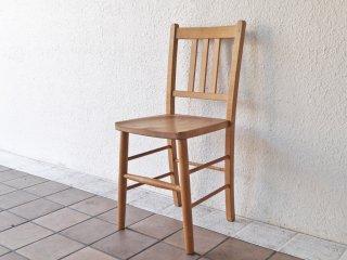 アムス テーブル&チェアーズ ams table&chairs オールドパイン無垢材 ダイニングチェア UKカントリー ◇