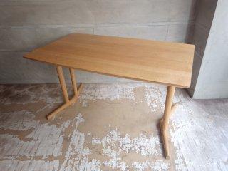 日進木工 NISSIN グロウ GROW Natural Brownダイニングテーブル ノーザンレッドオーク材 定価\157,300- ♪