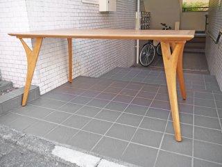 朝日木材加工 ボスコ BOSCO ダイニングテーブル ニヤトー無垢材 クラフト家具 ■