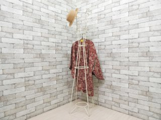 ウニコ unico サラ SARAH ポールハンガー コートハンガー ホワイト アイアン H160cm 廃番カラー ●