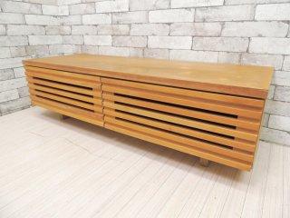 ウニコ unico レイン LIJN AVボード TVボード ニレ材 スリット W120cm 定価:\65,780- ●