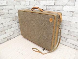ハートマン hartmann ツイードベルティング TWEED BELTING トラベルバッグ Travel Bag トランク  キャスター付 アメリカンビンテージ US Vintage ●