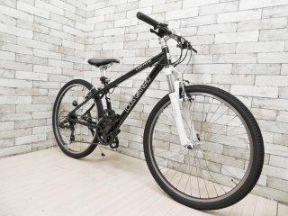 ルイガノ LOUIS GARNEAU ファイブ LGS-FIVE マウンテンバイク 自転車 ブラック LG BLACK 26インチ ジュニア向け 2016年発売 説明書付 定価:約6万円 ●
