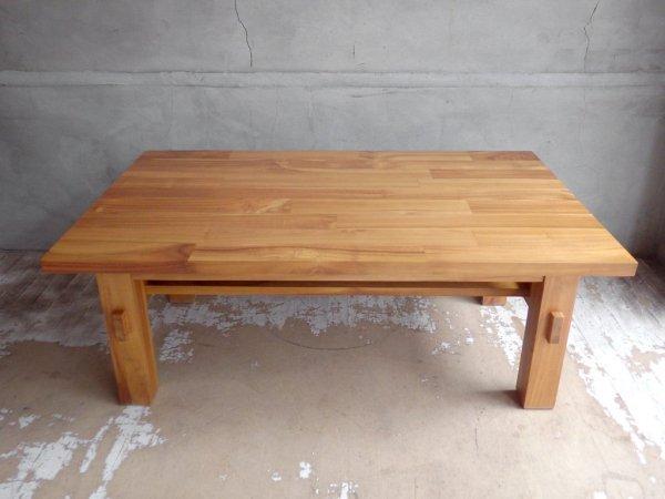 ウニコ unico ブレス BREATH ローテーブル センターテーブル W95 チーク無垢材 廃番 希少 ♪
