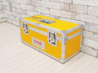 コダック Kodak フィルムキャリングケース タイプ 400A ハードトランクケース イエロー 鍵&フィルムケース付 定価¥82,500- ●