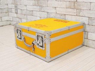 コダック Kodak フィルムキャリングケース ハードトランクケース イエロー 鍵&フィルムケース付 定価8万円以上 ●