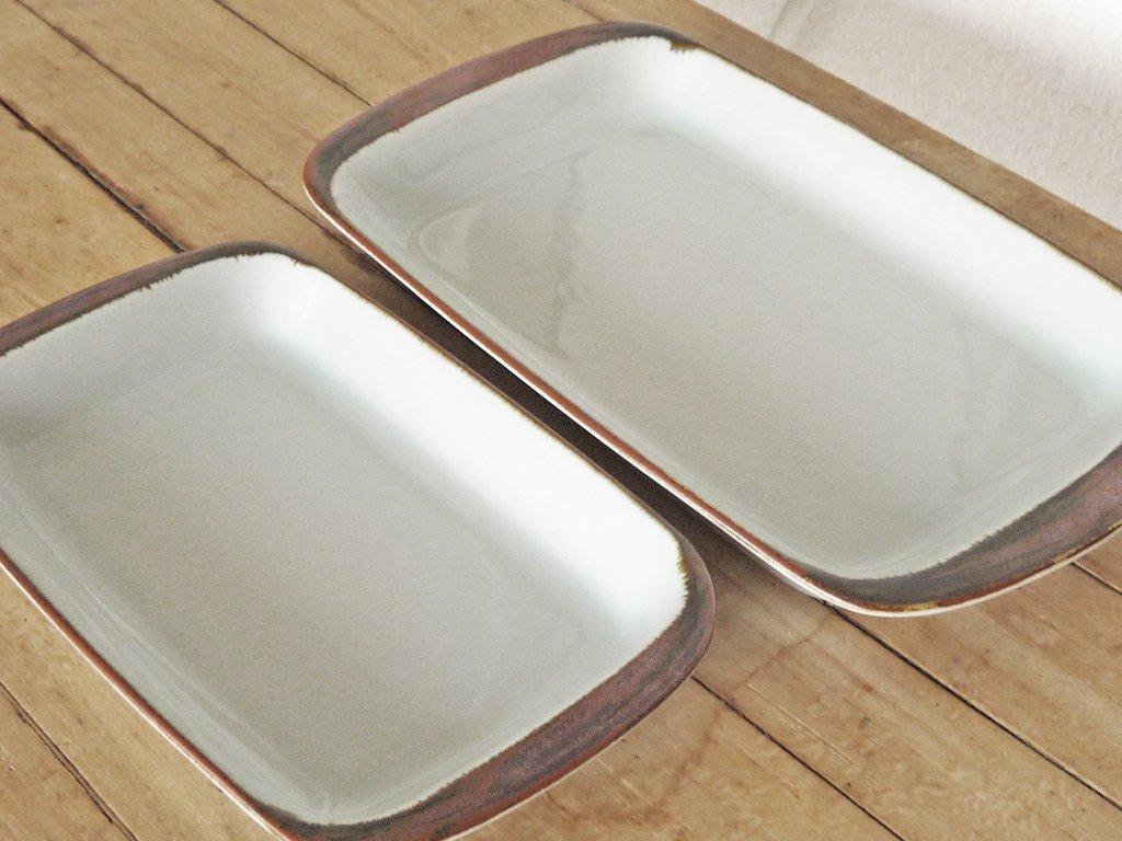デシレ DESIREE ディスコス Discos スクエアプレート オーブンウェア LLサイズ ビンテージ 北欧食器 デンマーク ◇