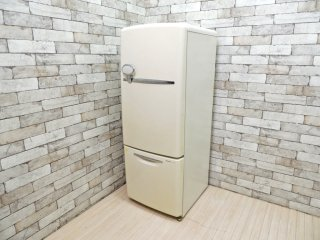 ナショナル National ウィル WiLL FRIDGE mini パーソナルノンフロン冷凍冷蔵庫 フリッジミニ ホワイト 廃盤 2002年製 162L オリジナル ノスタルジックデザイン ●