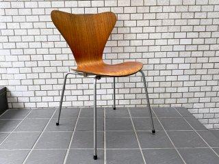 フリッツハンセン Fritz Hansen セブンチェア チーク材 アルネ ヤコブセン Arne Jacobsen 60's ビンテージ 北欧デンマーク ■