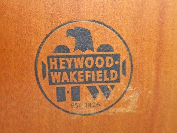 ヘイウッドウェイクフィールド HAYWOOD WAKEFIELD ランプテーブル バーチ無垢材 ミッドセンチュリー USビンテージ ♪