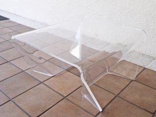 ワーズウィズ Waazwiz ツボミ TSUBOMI アクリル サイドテーブル センターテーブル Lサイズ ◇
