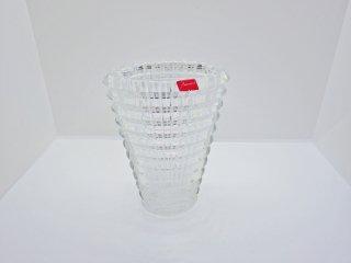 バカラ Baccarat アイ フラワーベース 花瓶 Sサイズ クリア クリスタルガラス 定価:\55,000- フランス ♪