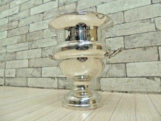 アーサープライス ARTHUR PRICE OF ENGLAND シャンパン ワインクーラー アイスバケット イギリス王室御用達 定価¥82,500- シルバープレート 銀食器 ●
