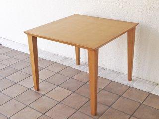 レノマ renoma paris 木製 カフェテーブル スクエアテーブル ナチュラルデザイン ◇