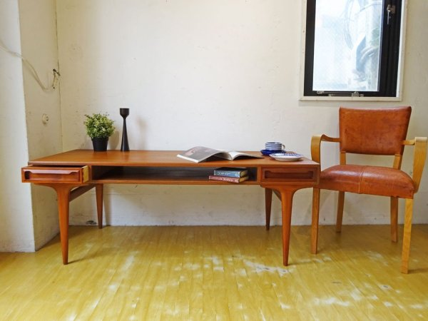 ヨハネス アンダーセン Johannes Andersen ビンテージ チーク材 コーヒーテーブル Coffee table 60's Sweden スウェーデン 北欧家具 ★