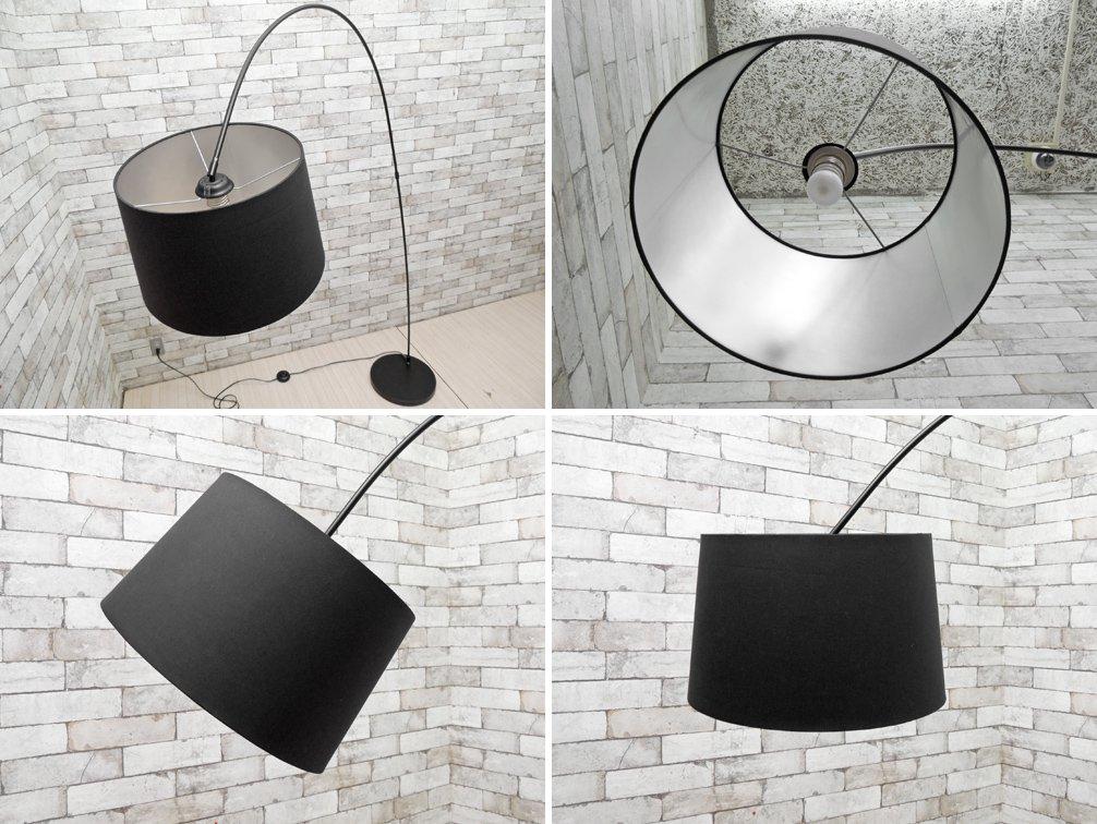 ボーコンセプト Bo concept クタ Kuta フロアランプ ブラック ロングネック シンプルモダンデザイン  ●