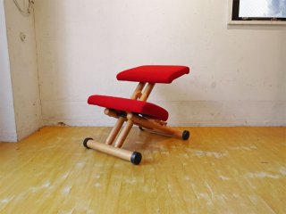 ヴァリエール VARIER ストッケ STOKKE マルチバランス MULTI レッド バランスチェア 北欧 学習椅子 ノルウェー ★